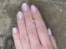 Бледно-розовый кунцит отличной российской огранки октагон, вес 1.69 карат, размер 6.2х6.2мм (kunzite0084)