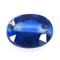 Кианит формы овал, вес 2.45 карат, размер 9.3х7.2мм (kyanite0037)