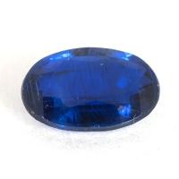 Кианит формы овал, вес 1.81 карат, размер 9.3х6.6мм (kyanite0039)