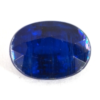 Кианит формы овал, вес 2.53 карат, размер 9.7х7.15мм (kyanite0040)