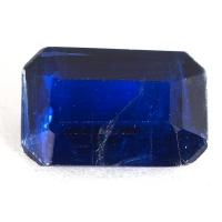 Кианит формы октагон, вес 2.52 карат, размер 10.1х6.6мм (kyanite0050)