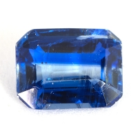 Кианит формы октагон, вес 2.45 карат, размер 9.2х7.1мм (kyanite0052)