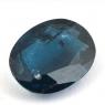 Сине-зелёный кианит формы овал, вес 8.97 карат, размер 17.5х11.7мм (kyanite0053)