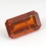 Оранжевый кианит формы октагон, вес 2.39 карат, размер 10.5х5.8мм (kyanite0058)