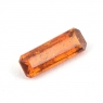 Оранжевый кианит формы октагон, вес 0.81 карат, размер 9.7х3.4мм (kyanite0061)