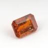 Оранжевый кианит формы октагон, вес 1.34 карат, размер 7.2х5.2мм (kyanite0062)
