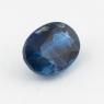 Синий кианит формы овал, вес 1.8 карат, размер 8.2х6.15мм (kyanite0066)