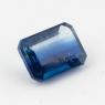Синий кианит формы октагон, вес 1.65 карат, размер 7.9х5.9мм (kyanite0070)