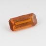 Оранжевый кианит формы октагон, вес 0.51 карат, размер 7х3.1мм (kyanite0081)