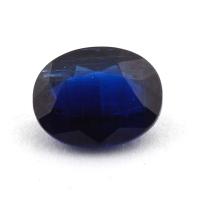 Синий кианит формы овал, вес 2.45 карат, размер 9.2х7.2мм (kyanite0084)