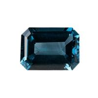 Топаз голубой london октагон средний вес 20 карат, размер 18х13мм (london0002)