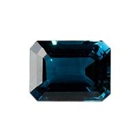 Топаз голубой london октагон средний вес 15.7 карат, размер 16х12мм (london0003)