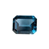 Топаз голубой london октагон средний вес 4.5 карат, размер 10х8мм (london0006)