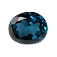 Топаз голубой london овал размер 12х10мм (london0010)