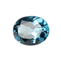 Топаз голубой london овал размер 10х8мм (london0011)
