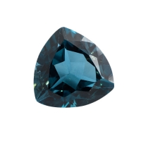 Топаз голубой london триллион вес 16.64 карат, размер 16х16мм (london0015)