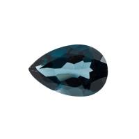 Топаз голубой london груша средний вес 8.14 карат, размер 15х10мм (london0018)