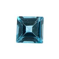Топаз голубой london квадрат, размер 4х4мм (london0025)