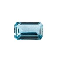 Топаз голубой london октагон вес 0.35 карат, размер 5х3мм (london0026)