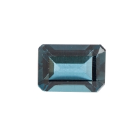 Топаз голубой london октагон вес 1.2 карат, размер 7х5мм (london0027)