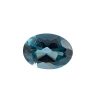 Топаз голубой london овал размер 7х5мм (london0032)