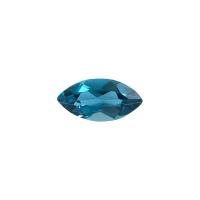 Топаз голубой london маркиз вес 1.22 карат, размер 10х5мм (london0036)