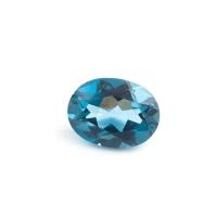 Топаз голубой london овал размер 8х6мм (london0043)
