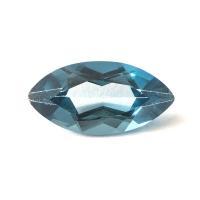 Топаз голубой london маркиз размер 12х6мм (london0048)