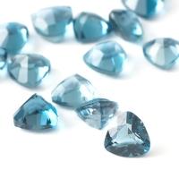 Топаз голубой london триллион размер 4х4мм (london0049)