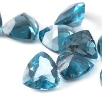 Топаз голубой london триллион размер 6х6мм (london0050)