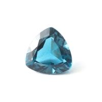 Топаз голубой london триллион размер 7х7мм (london0051)