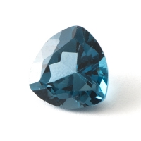 Топаз голубой london триллион размер 9х9мм (london0052)