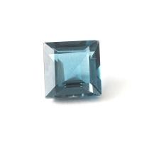 Топаз голубой london квадрат размер 6х6мм (london0056)