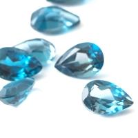 Топаз голубой london груша размер 6х4мм (london0064)