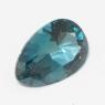 Топаз голубой london отличной российской огранки груша вес 2.54 карат, размер 11х7.3мм (london0074)