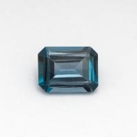 Топаз голубой «лондонского»  оттенка октагон средний вес 2.9 карат, размер 9х7мм (london0078)