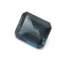 Топаз голубой «лондонского»  оттенка октагон средний вес 5.7 карат, размер 11х9мм (london0079)