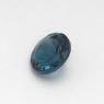 Топаз голубой «лондонского»  оттенка круг средний вес 1.43 карат, размер 7х7мм (london0086)