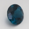 Топаз голубой «лондонского»  оттенка круг средний вес 5.9 карат, размер 11х11мм (london0088)