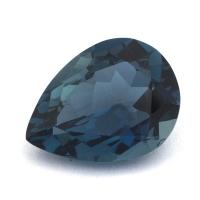Топаз голубой «лондонского» оттенка груша вес 9.99 карат, размер 16х12мм (london0094)