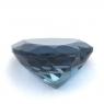 Топаз голубой «лондонского» оттенка сердце вес 15.3 карат, размер 15.9х15.8мм (london0096)