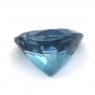 Топаз голубой «лондонского» оттенка сердце вес 13.81 карат, размер 15.3х15мм (london0097)