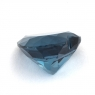 Топаз голубой «лондонского» оттенка сердце вес 10.92 карат, размер 14.1х14мм (london0098)