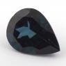 Голубой топаз лондонского оттенка формы груша, вес 18.73 карат, размер 20х15.2мм (london0107)
