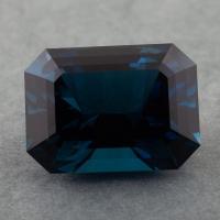 Голубой топаз london blue отличной российской огранки формы октагон, вес 24.66 карат, размер 18.9х13.9мм (london0120)