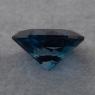 Голубой топаз london blue отличной российской огранки формы овал, вес 8.7 карат, размер 14.9х11.2мм (london0122)