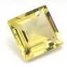 Лимонный кварц квадрат средний вес 16.89 карат, размер 15.5х15.5мм (lquartz0023)
