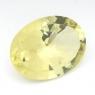 Лимонный кварц овал средний вес 14.5 карат, размер 20х15мм (lquartz0027)