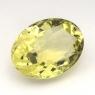 Лимонный кварц овал средний вес 9.04 карат, размер 16х12мм (lquartz0029)