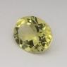 Лимонный кварц овал средний вес 4.34 карат, размер 12х10мм (lquartz0031)